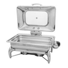 Walco Stainless WI9LGL Idol™ 8 Qt.. Rectangular Chafer Kit