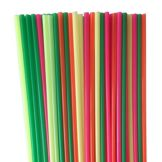 "Cell-O-Core LU18NA500 Asst. Neon Unwrapped Giant 18"" Straw - 500 / CS"