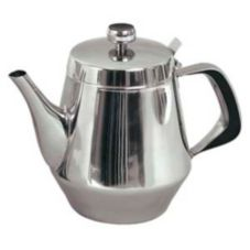 Update International GNS-20 Stainless Steel 20 Oz. Gooseneck Teapot