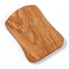 "American Metalcraft OWB107 Olive Wood 10 x 7"" Serving Board"