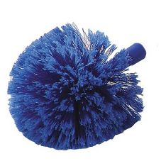 Carlisle Flo-Pac® Soft-Flagged Round Feather Duster, Blue, 9""