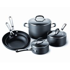 Calphalon SA8H Simply Calphalon 8 Piece Nonstick Cookware Set
