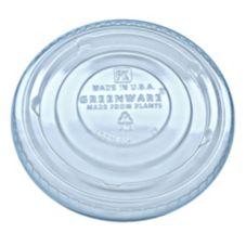 Fabri-Kal 9509127 No Slot Plastic Lid for 9/12/20 Oz. Cups - 1000 / CS