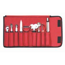 TableCraft E5600-9 9 Piece Garnish Set with Nylon Case
