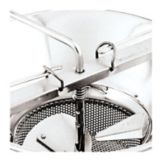 "Paderno® 42574-92 5/64"" Perforated Sieve for #5 Food Mill"
