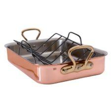 Mauviel 6019.40 M'Heritage Copper Tri-Ply Roaster