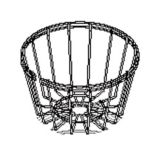 Fetco 1009.00006.00 Wire Basket for CBS-2024'S