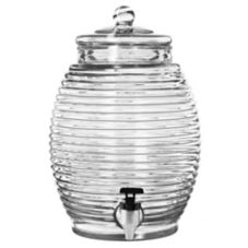 Libbey® 92165 Beehive 2.9 Gallon Infusion Jar with Lid - 2 / CS