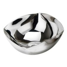 Eastern Tabletop 6110 Silver-Plate 48 Oz. Square Edge Revere Bowl