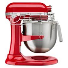 KitchenAid® KSMC895ER Empire Red 8 Qt. Lift Stand Mixer with Guard
