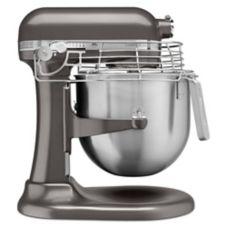 KitchenAid® KSMC895DP Dark Pewter 8 Qt. Stand Mixer with Guard