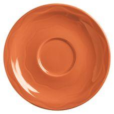"""Syracuse 903034201 Cantina® Cayenne 6-1/4"""" Saucer - 12 / CS"""