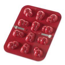 Nordic Ware® 43609 12 Cavity Snowman Shape Cake Pop Pan - 4 / CS