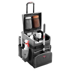 Rubbermaid® 1902465 Dark Gray Large Executive Quick Cart
