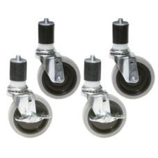 "Eagle® CA4-SB 4"" Casters for Maple Table"