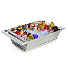 "Eastern Tabletop 9050 Two-Tone 18.5"" x 16.5"" Beverage Tub"