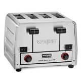 Waring Products WCT850RC 120V Bread / Bagel Control 4-Slice Toaster