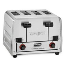 Waring® WCT850RC 120V Bread / Bagel Control 4-Slice Toaster