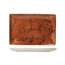 "Steelite 11330550 Craft™ 10.63"" Rectangle Platter - 6 / CS"