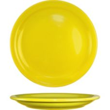 "International Tableware CAN-7-Y Yellow 7-1/4"" Plate - 36/ CS"