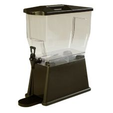 Carlisle 1085069PC Trimline 3 Gallon Dark Brown Beverage Dispenser