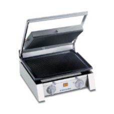 "Electrolux 602104/DGR15U 15"" Ribbed Top and Bottom Panini Grill"