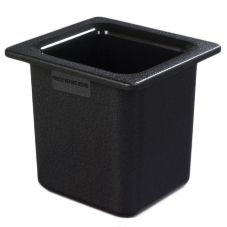 Carlisle® CM110503 Coldmaster1.7 Qt. Sixth-Size Black Food Pan