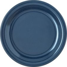 "Carlisle® Dallas Ware® 7-1/4"" Cafe Blue Salad Plate"