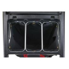 Rubbermaid® FG9T89010000 Triple Waste Wire Bag Holder