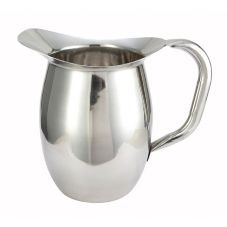Winco® WPB-2 S/S 2 Qt. Deluxe Bell Pitcher
