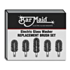 Bar Maid BRS-1722 5 Piece Replacement Glass Washer Brush Set