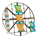 Buffet Euro FTW2424 Metal Wagon Wheel Style Display Wheel