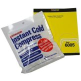 "DayMark® 114693 First Aid 4"" x 5"" Instant Cold Compress"