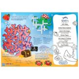 Family Hospitality 310-SEA1 Undersea Theme Paper Placemats - 1000 / CS