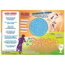 Family Hospitality 310-ACT Paper Activity Placemats - 1000 / CS