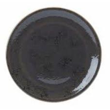"Steelite 11540614 Craft™ 12.5"" Grey Pizza Plate - 6 / CS"
