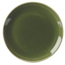 """Homer Laughlin 13109391 Bosque® Moss Green 10-1/2"""" Plate - 12 / CS"""