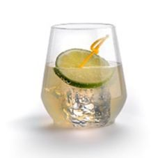 WNA RESSGL1284 Reserv PET 12 Oz Stemless Plastic Wine Glass - 32 / CS