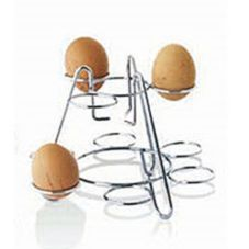 Matfer Bourgeat N4112 Chromed Wire Display Holder for Boiled Eggs