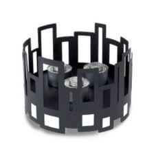 """Rosseto SM111 Black Matte Steel 14.25"""" x 9.5"""" Buffet Warmer"""