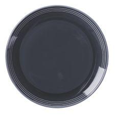 """Homer Laughlin 13109712 Bosque® Blueberry 10-1/2"""" Plate - 12 / CS"""