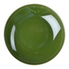 """Homer Laughlin 13319391 Bosque Moss Green 9-1/4"""" Pasta Bowl - 12/ CS"""