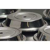 Steelite 5380S625 Stainless Steel Cover for Spyro Plate - 24 / CS