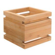 """Rosseto SW101 Skycap® 6"""" Natural Bamboo Multi-Level Riser"""