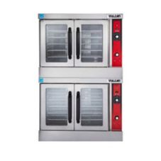 Vulcan VC44GD Stainless Steel Double Deck LP Gas Convection Ovens