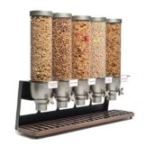 Rosseto® EZ522 EZ-SERV® 5 Container Tabletop Dispenser