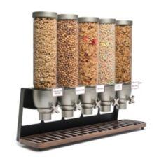 Rosseto® EZ522 EZ-SERV® 5 Container Tabletop Dispenser
