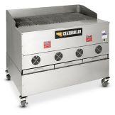 CookShack CB048 Wood Burning Pellet Fired Commercial Charbroiler