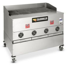 CookShack CB048 Wood Burning Pellet Fired Commercial Charbroiler