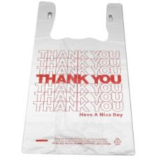 "Inno-Pak 267422321 ""Thank You"" T-Shirt 11.5 x 6.5 x 20"" Bag - 750 / CS"